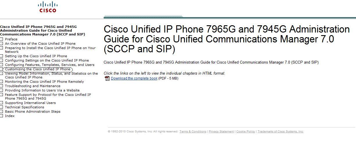 IP Phone Background Image
